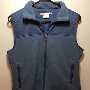 Nike fleece golf vest